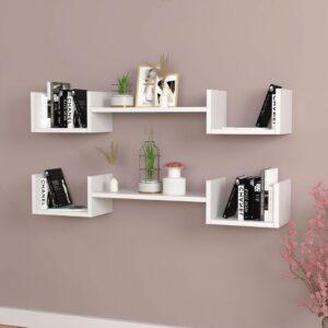 Kệ gỗ treo tường trang trí hiện đại Wicoa (1)
