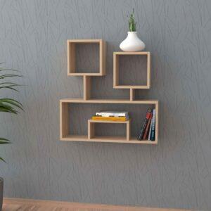 Kệ gỗ treo tường trang trí hiện đại Wolfmon (1)