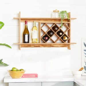 Kệ rượu gỗ hiện đại Aiden (1)