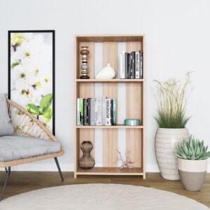 Kệ sách, kệ trang trí gỗ hiện đại Backdrop (1)