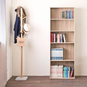 Kệ sách, kệ trang trí gỗ hiện đại Baingride (1)