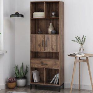 Kệ sách, kệ trang trí gỗ hiện đại Bankotsu (1)