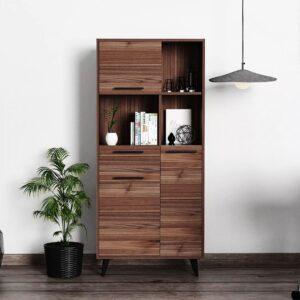 Kệ sách, kệ trang trí gỗ hiện đại Bata (1)