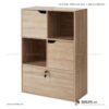 Kệ sách, kệ trang trí gỗ hiện đại Benbecula (2)
