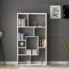 Kệ sách, kệ trang trí gỗ hiện đại Bianco (3)