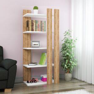 Kệ sách, kệ trang trí gỗ hiện đại Billinda (1)