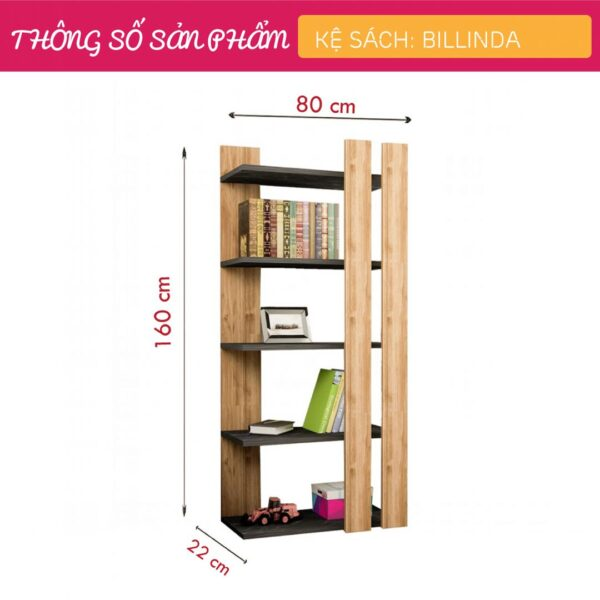 Kệ-sách,-kệ-trang-trí-gỗ-hiện-đại-Billinda