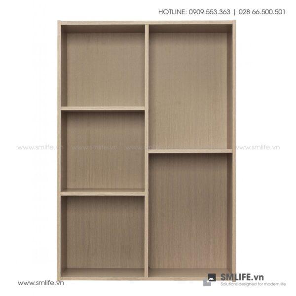 Kệ sách, kệ trang trí gỗ hiện đại Bleanish (8)