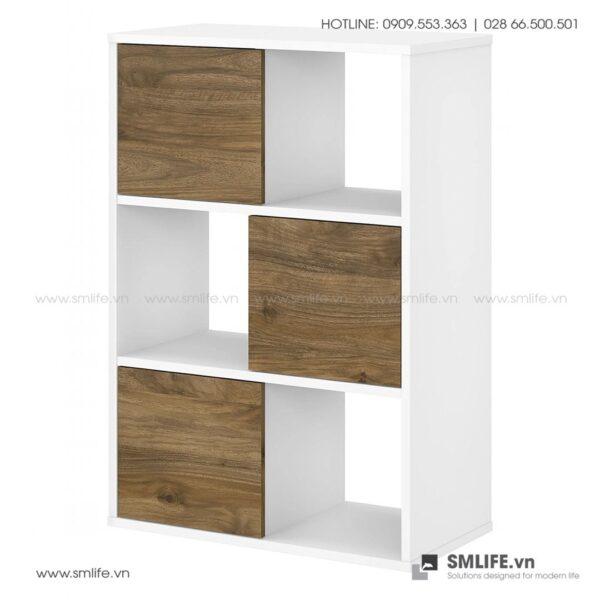 Kệ sách, kệ trang trí gỗ hiện đại Blink (3)