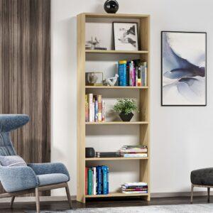 Kệ sách, kệ trang trí gỗ hiện đại Blom (1)