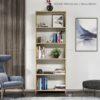 Kệ sách, kệ trang trí gỗ hiện đại Blom (2)