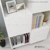 Kệ sách, kệ trang trí gỗ hiện đại Blumen (2)