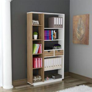 Kệ sách, kệ trang trí gỗ hiện đại Bossa (1)