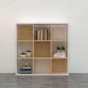 Kệ sách, kệ trang trí gỗ hiện đại Bowen (1)