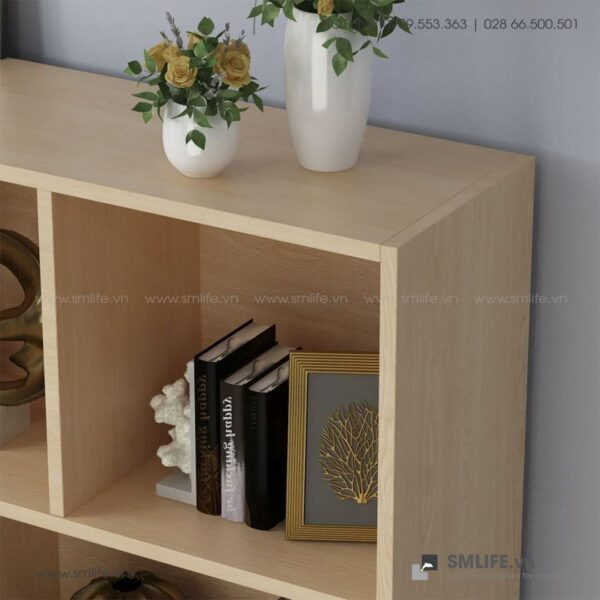 Kệ sách, kệ trang trí gỗ hiện đại Bridgeman (5)