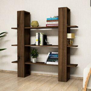 Kệ sách, kệ trang trí gỗ hiện đại Bright (1)