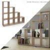 Kệ sách, kệ trang trí gỗ hiện đại Brill (6)