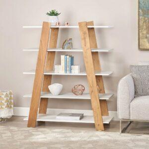 Kệ sách, kệ trang trí gỗ hiện đại Broom (1)