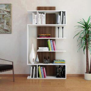 Kệ sách, kệ trang trí gỗ hiện đại Brushking
