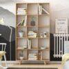Kệ sách, kệ trang trí gỗ hiện đại Bugio (1)
