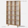 Kệ sách, kệ trang trí gỗ hiện đại Bugio (3)