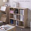 Kệ sách, kệ trang trí gỗ hiện đại Bunce (4)