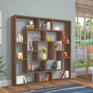 Kệ sách, kệ trang trí gỗ hiện đại Burel (1)