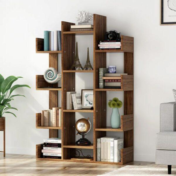 Kệ sách, kệ trang trí gỗ hiện đại Burra (1)