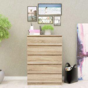 Tủ phòng ngủ gỗ hiện đại Sagam (1)