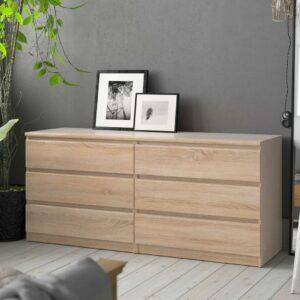Tủ phòng ngủ gỗ hiện đại Samrat (1)