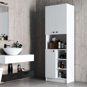 Tủ phòng tắm gỗ hiện đại Sebura (1)