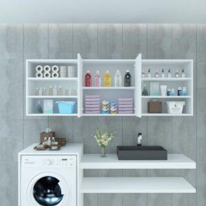Tủ phòng tắm gỗ hiện đại Semidis