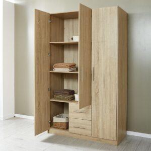 Tủ quần áo gỗ hiện đại Cepham (1)
