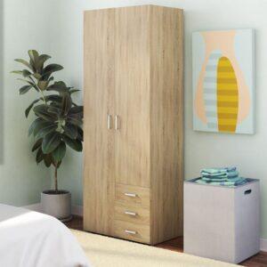 Tủ quần áo gỗ hiện đại Chaman (1)