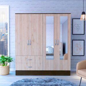 Tủ quần áo gỗ hiện đại Choski (1)