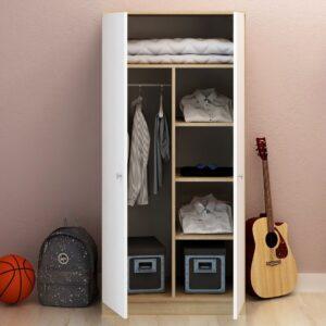 Tủ quần áo gỗ hiện đại Cicadu (1)