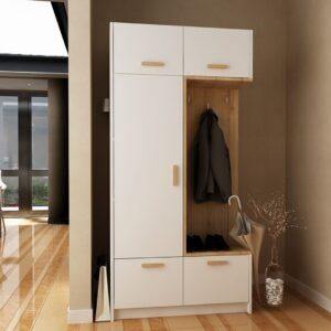 Tủ quần áo gỗ hiện đại Cineline (1)