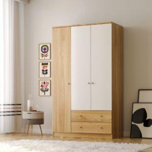 Tủ quần áo gỗ hiện đại Clarinio (1)