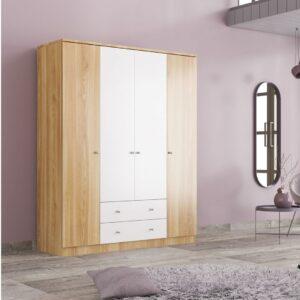 Tủ quần áo gỗ hiện đại Clidos (1)