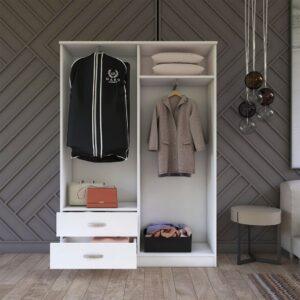 Tủ quần áo gỗ hiện đại Corrieo (1)