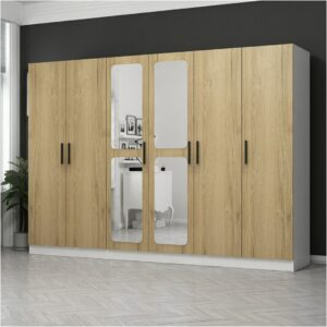 Tủ quần áo gỗ hiện đại Crissio (1)