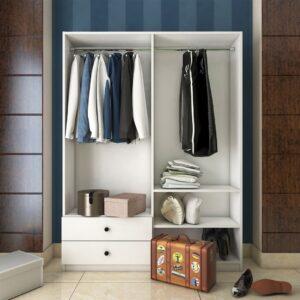 Tủ quần áo gỗ hiện đại Crozmo (1)