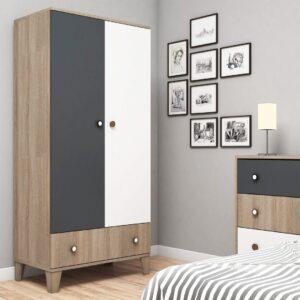 Tủ quần áo gỗ hiện đại Cuperion (1)