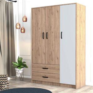Tủ quần áo gỗ hiện đại Curatu (1)